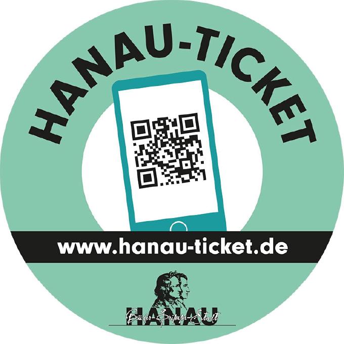Logo der Hanau Ticket App